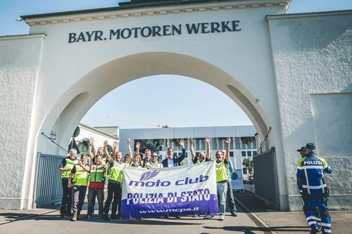 Moto Club Polizia di Stato, viaggio sociale a Monaco di Baviera (4)