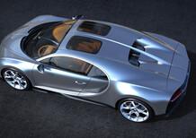 Bugatti Chiron, arriva il tetto panoramico Sky View