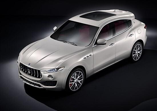 Maserati Levante, primo SUV del Tridente
