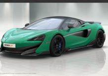 McLaren, la 600 LT disponibile al configuratore online