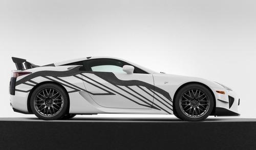 Lexus LFA, una art car per la 24h di Spa 2018 (4)