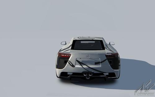Lexus LFA, una art car per la 24h di Spa 2018 (8)