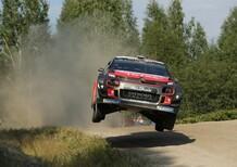 """WRC 2018/Citroen. Finlandia 1. Exploit Ostberg: """"Si corre per vincere!"""""""