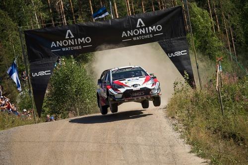 WRC18 Finlandia. Day 2: Tanak, Toyota (4)