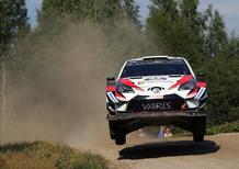 WRC18 Finlandia. Toyota e il programma Spettacolo al Rally