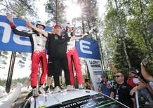WRC18 Finlandia. Ott Tanak e Toyota imprendibili