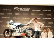 Antonio Banderas ha presentato Jack&Jones, il suo team di Moto2