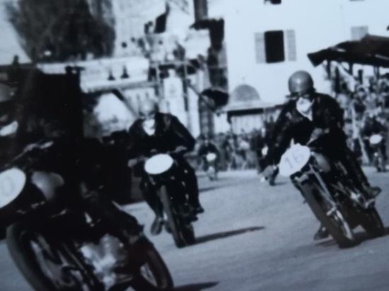 Circuito di Finale Emilia, 1951: uno dei tanti duelli