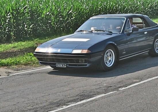Ferrari 400i Spider, viaggio nella Bassa
