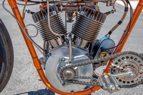 Harley-Davidson 11K 1915, la prima moto da corsa H-D all'asta (3)