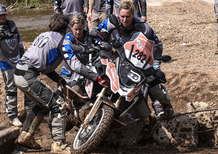 BMW GS Trophy 2016, day 1: Argentina in testa