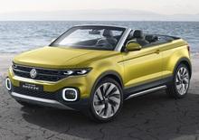 Volkswagen T-Cross Breeze Concept, anti-Juke en plein air