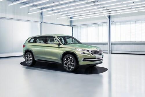 VisionS Concept: così sarà il SUV ibrido di Skoda (3)