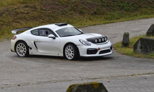 Porsche Cayman GT4 Clubsport Rally Concept, Cayman da rally (7)