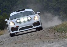 Porsche Cayman GT4 Clubsport Rally Concept, Cayman da rally