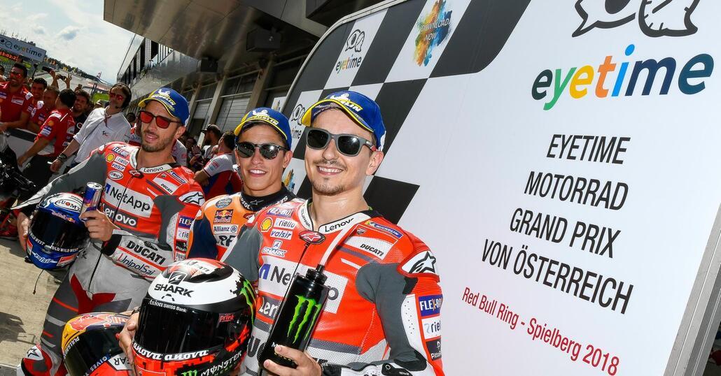 MotoGP 2018. Spunti, considerazioni e domande dopo le QP in Austria