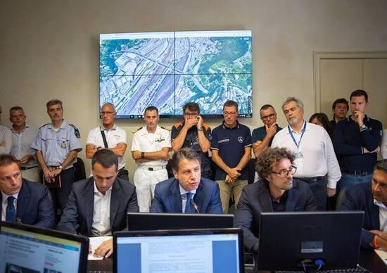 Ponte Morandi, Conte: «Revoca della concessione ad Autostrade»
