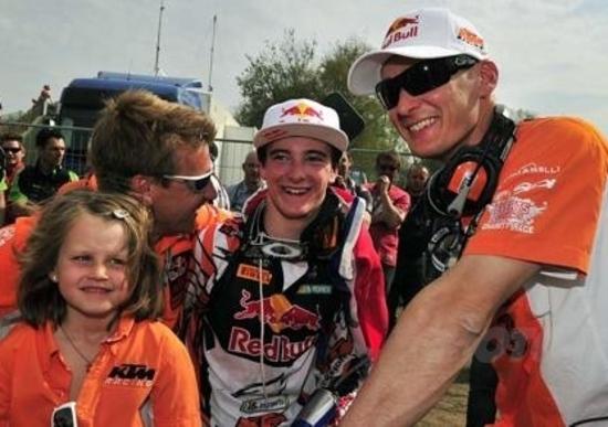 Stefan Everts intervistato dopo il GP d'Olanda
