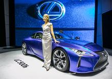 Lexus al Salone di Ginevra 2016