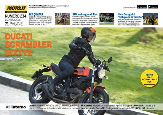 Magazine n°234, scarica e leggi il meglio di Moto.it