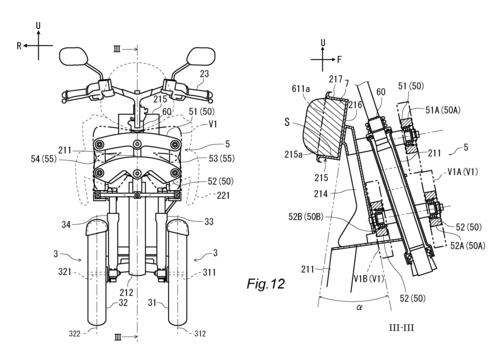 L'Airbag per scooter e i brevetti Yamaha (4)