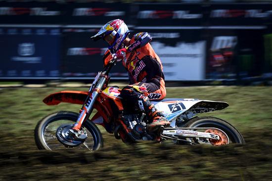 Prado, primo nelle qualifiche MX2