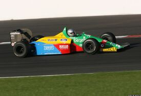 I colori del marchio in F1 sulla B188-01