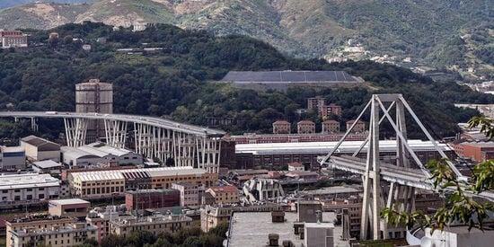 La tragedia del ponte morandi del 14 agosto 2018