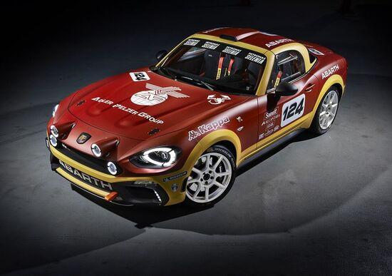 Abarth 124 rally, lo Scorpione torna alle corse su strada
