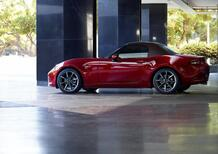 Mazda MX-5. Restyling per Spider e RF