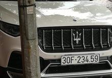 Maserati: lo strano SUV che si aggira ad Hanoi