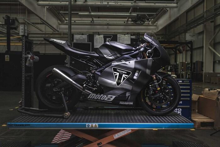 La Triumph Moto2