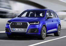Audi SQ7 TDI, potenza Diesel