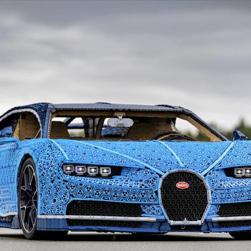 Gp Italia F1 2018 Monza Lego Technique Bugatti Chiron 1 1 Video
