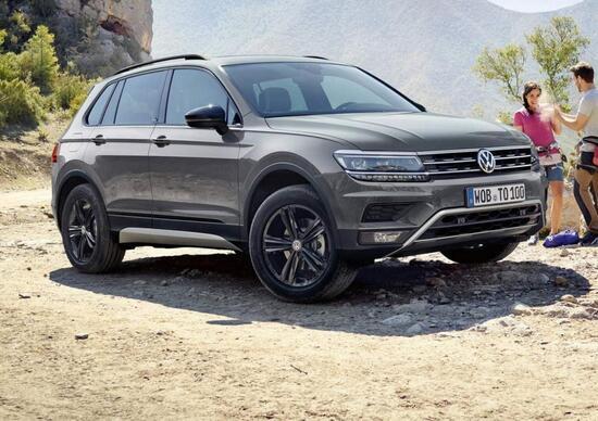 Volkswagen Tiguan Offroad, debutto a Mosca