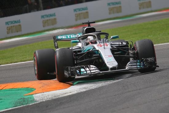 Lewis Hamilton scatterà dalla terza posizione a Monza