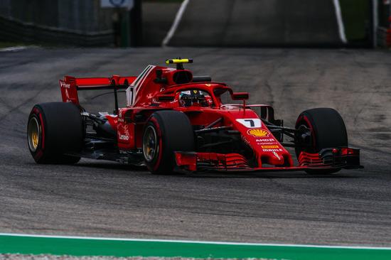 Seconda posizione per Kimi Raikkonen a Monza