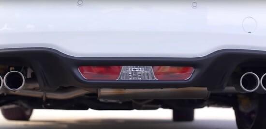 Il posteriore della Fiat 124 Spider Abarth 2019
