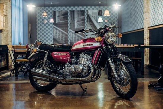 La moto restaurata da Soiatti