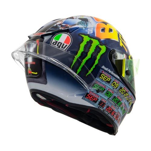 MotoGP 2018. GP Misano, il casco di Valentino (2)