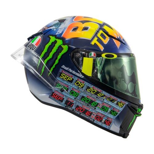 MotoGP 2018. GP Misano, il casco di Valentino (9)