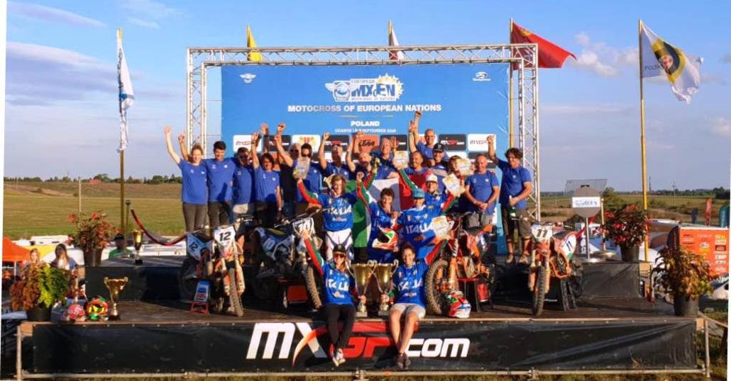 Grande Italia al Motocross delle Nazioni Europee