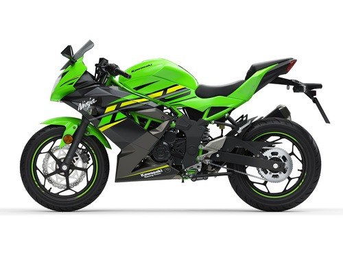 Kawasaki Ninja 125 e Z125: prime foto e dati (3)