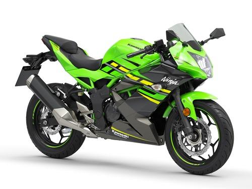 Kawasaki Ninja 125 e Z125: prime foto e dati (2)