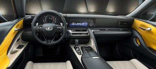 Lexus LC Hybrid, arriva la Yellow Edition (2)