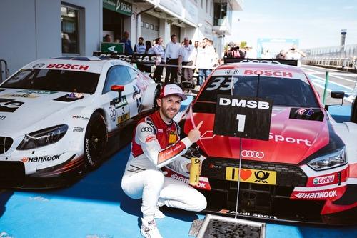 DTM 2018, Nürburgring: il capolavoro di René Rast