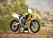 Suzuki RM-Z 250 2019: nuovo telaio, e non solo