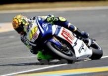 Rossi è il più veloce nelle libere di Le Mans