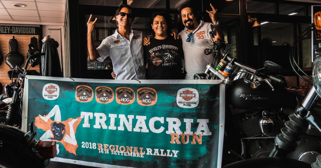 Harley-Davidson Trinacria Run Regional Rally