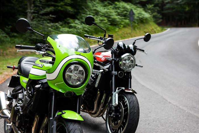 Le Kawasaki Z 900RS e Z 900RS CAFE
